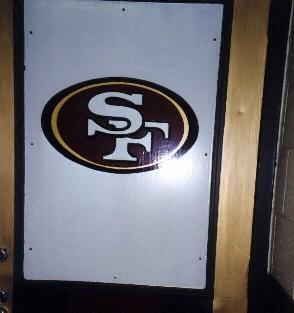 49ers door