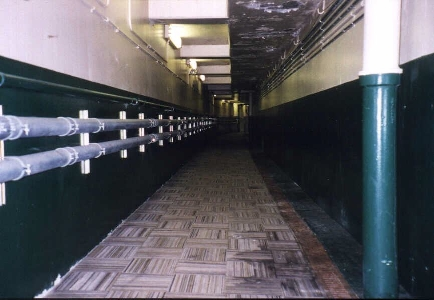clubhouse-to-dugout tunnel